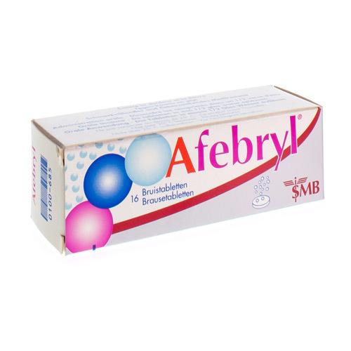 Afebryl 300 mg / 300 mg / 200 mg (16 bruistabletten)