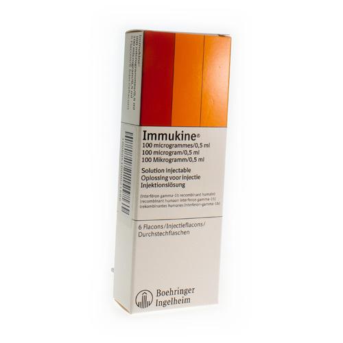 Immukine 6 Vials 0,5ml
