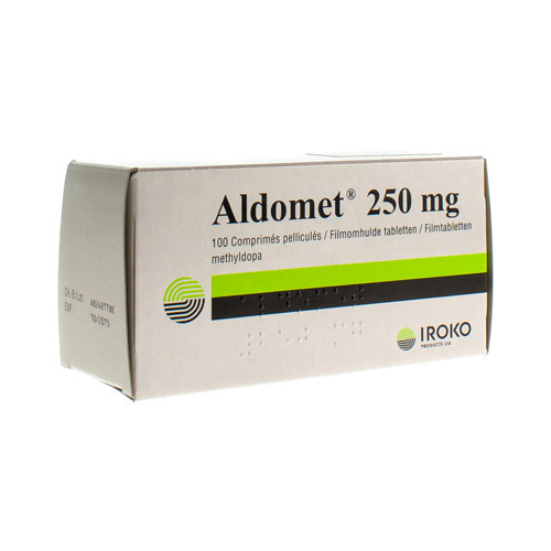 Aldomet 250 Mg  100 Tabletten
