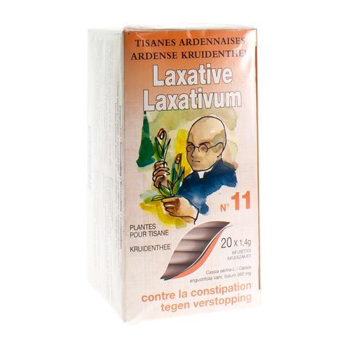 Ardennen Thee Laxativum Nr 11  20 Zakjes