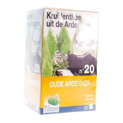 Tilman Kruidenthee Uit De Ardennen Nr. 20 Oude Ardenner (20 Zakjes)