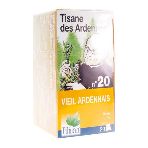 Tilman Tisane Des Ardennes Nr. 20 Vieil Ardennais (20 Sachets)