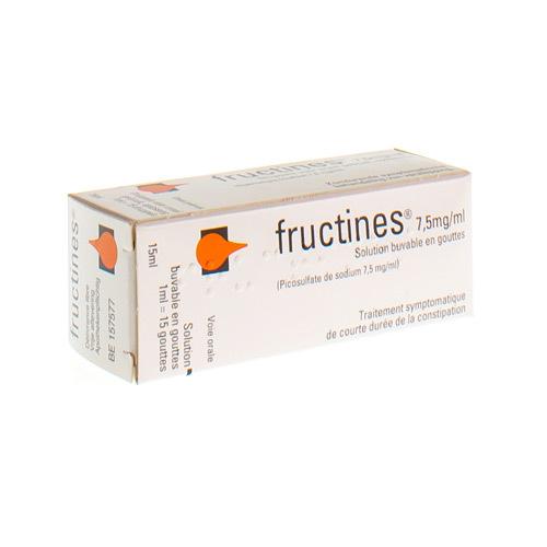 Fructines 7,5 Mg/Ml (15 Ml)