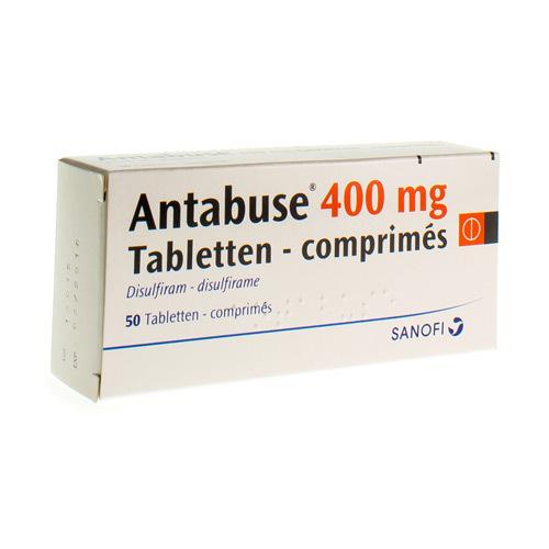 Antabuse 400 Mg  50 Comprimes