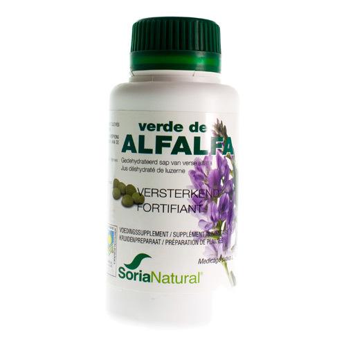 Soria Verde De Alfalfa 500 Mg (300 Comprimes)