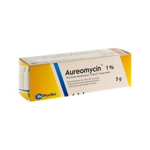 Aureomycin Pommade ophtalmique 1% (5 grammes)