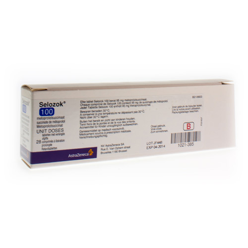 Selozok 100 Comprimes 28X95Mg Ud