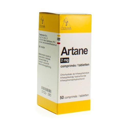 Artane 2 Mg  50 Tabletten