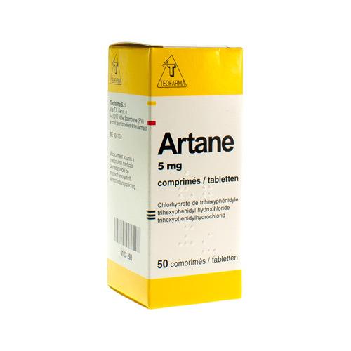 Artane 5 Mg  50 Comprimes
