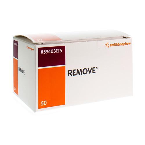 Remove Wipes Verwijd Kleefpleist 50Doek