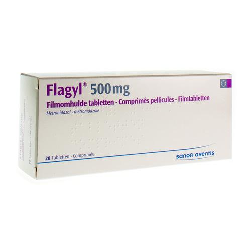 Flagyl 500 Mg (20 Tabletten)