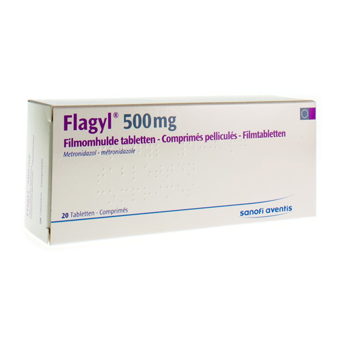Flagyl 500 Mg (20 Comprimes)