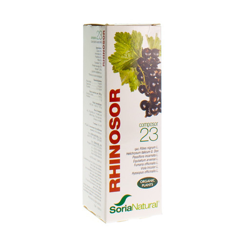 Soria Composor N.23 Rhinosor (50 Ml)