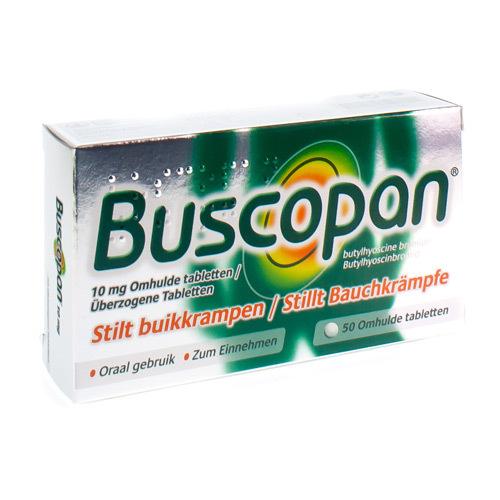 Buscopan 10 mg (50 tabletten)