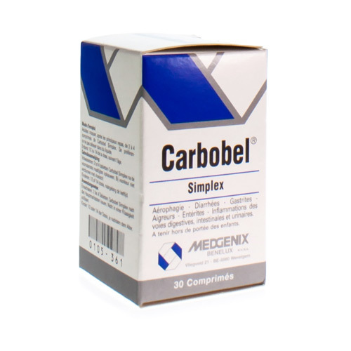 Carbobel Simple 30 Comp