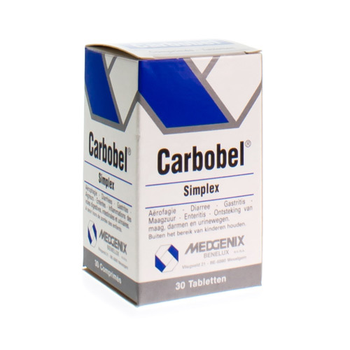 Carbobel Simple 30 Tabl