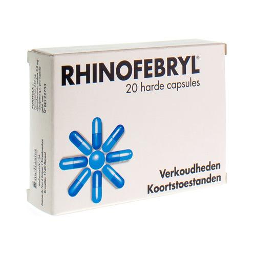 Rhinofebryl 240 Mg / 3,2 Mg (20 Capsules)