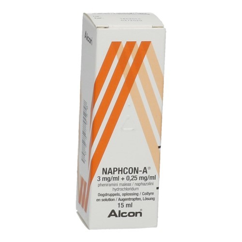 Naphcon A Collyre 15 ml