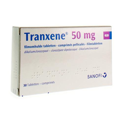 Tranxene 50 Mg (30 Comprimes)