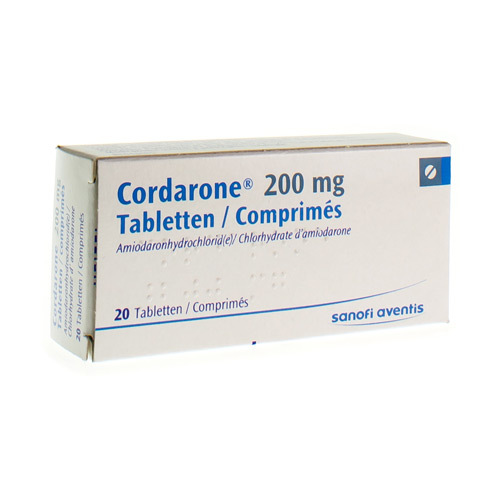 Cordarone 200 Mg  20 Tabletten