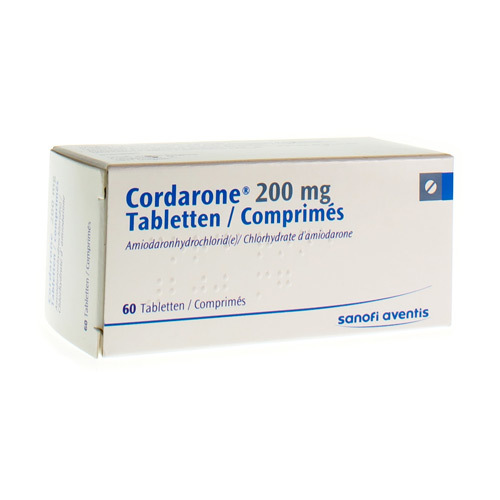 Cordarone 200 Mg  60 Tabletten