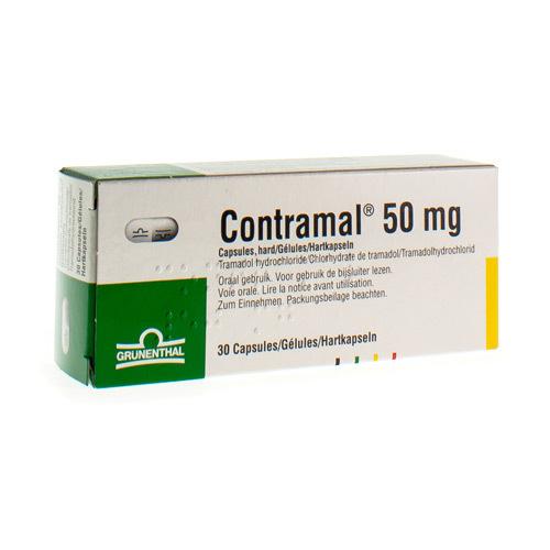 Contramal 50 Mg  30 Capsules