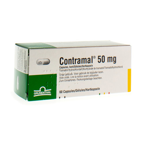 Contramal 50 Mg  60 Capsules