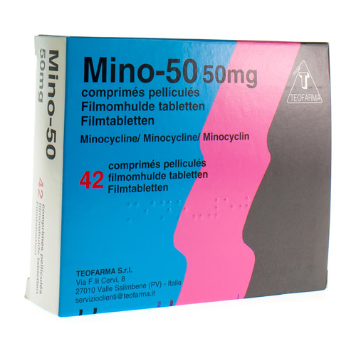 Mino 50 Mg (42 Comprimes)