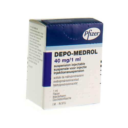 Depo-Medrol 40 Mg/Ml  1 Vial