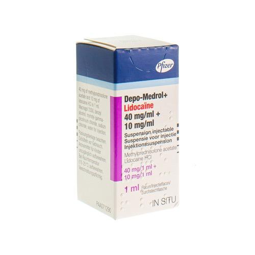 Depo-Medrol Lidocaine 40 Mg/Ml / 10 Mg/Ml  1 Vial