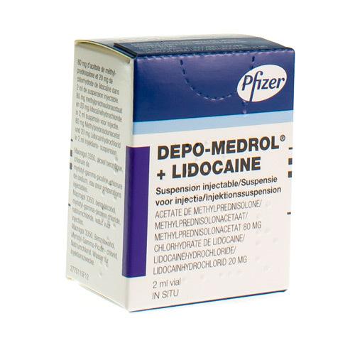 Depo-Medrol Lidocaine 80 Mg/2 Ml / 20 Mg/2 Ml  1 Vial