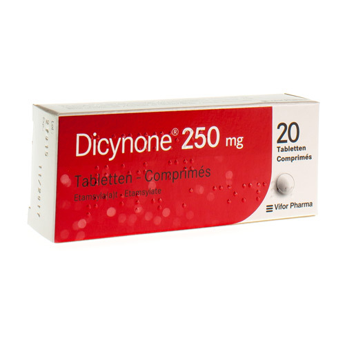 Dicynone 250 Mg  20 Comprimes