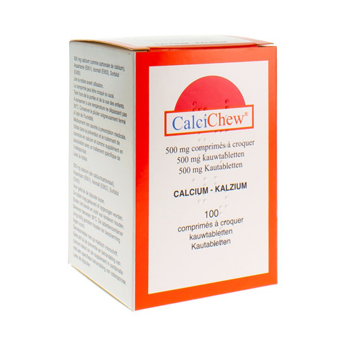 Calci-Chew 500 Mg  100 Kauwtabletten