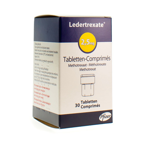 Ledertrexate 2,5 Mg (30 Comprimes)