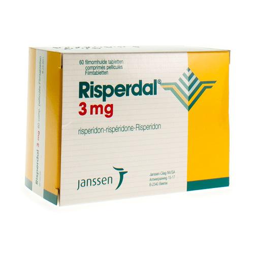 Risperdal 3 Mg (60 Comprimes)