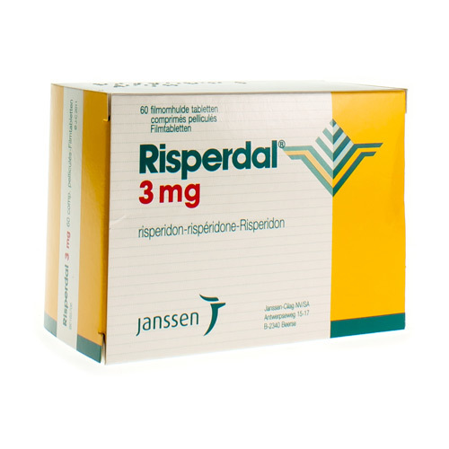 Risperdal 3 Mg (60 Tabletten)