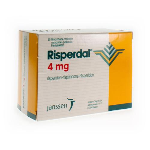 Risperdal 4 Mg (60 Comprimes)