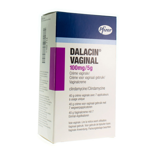 Dalacin Vaginal 100 Mg/5 G  40 Grammes