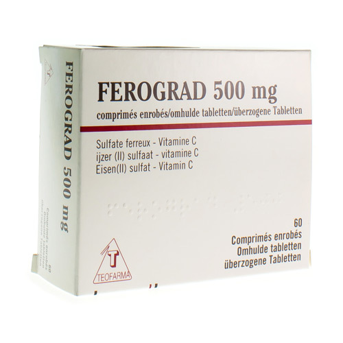 Ferograd 500 Mg / 525 Mg (60 Tabletten)