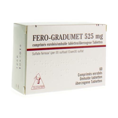 Fero-Gradumet 525 Mg (60 Comprimes)