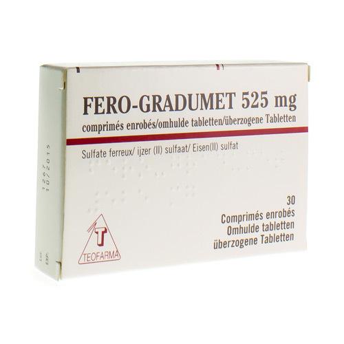 Fero-Gradumet 525 Mg (30 Comprimes)
