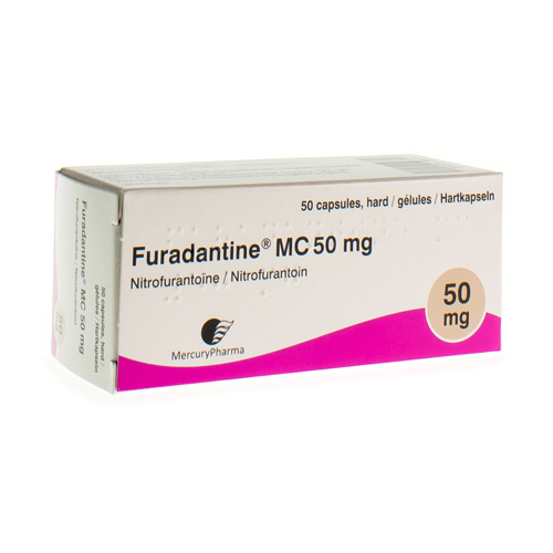 Furadantine Mc 50 Mg (50 Gelules)