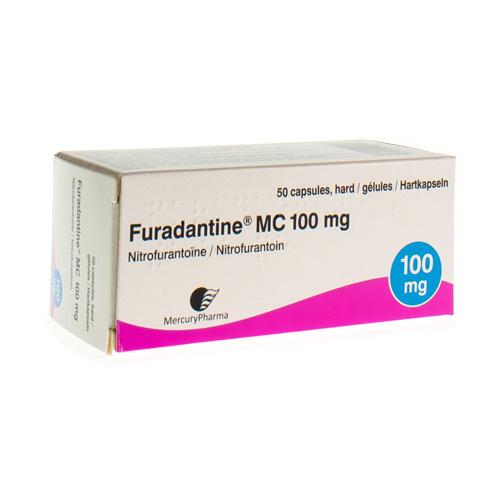Furadantine Mc 100 Mg (50 Capsules)