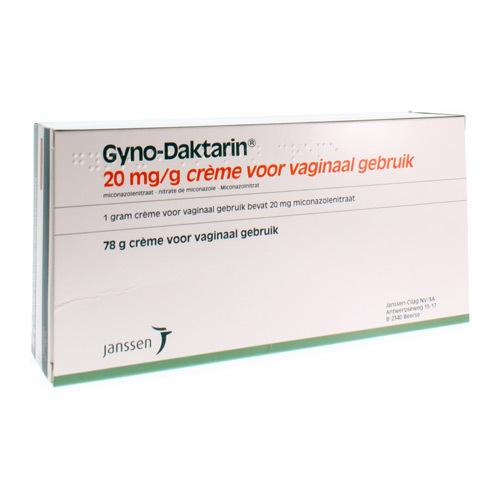Gyno-Daktarin Creme (78 Gram)