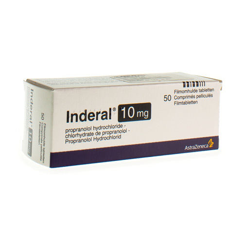 Inderal 10 Mg (50 Tabletten)
