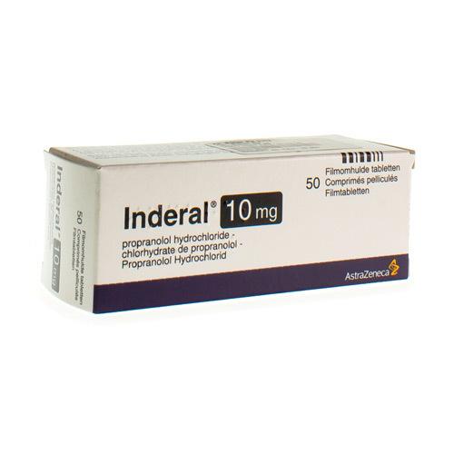 Inderal 10 Mg (50 Comprimes)