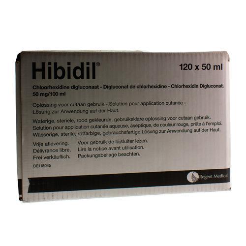 Hibidil 50 Mg/100 Ml (120 X 50 Ml Ampoules)