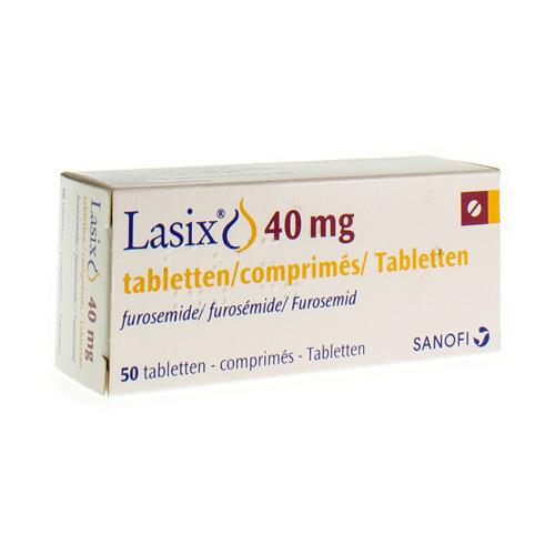 Lasix 40 Mg (50 Comprimes)