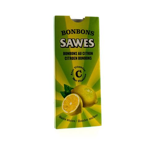 Sawes Bonbons Citroen Z/Suiker 10Stuk