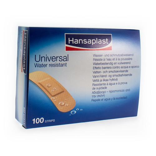 Hansaplast Universal Strips 19 Mm X 72 Mm (100 Stuks)